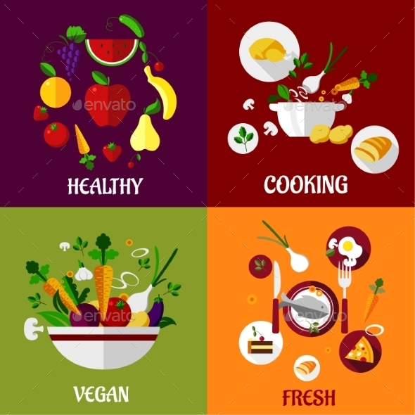 Healthy Food - Food Objects