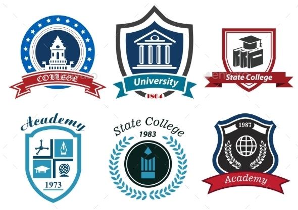 Academy Emblems - Miscellaneous Vectors