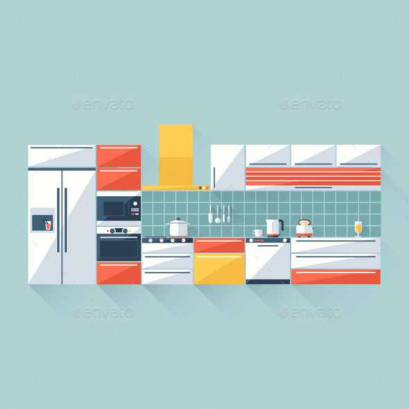 Kitchen - Objects Vectors