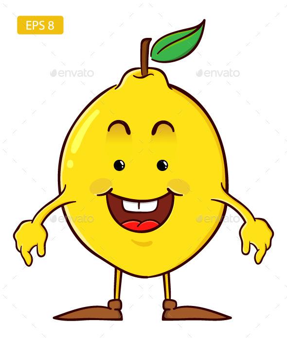 Lemon Cartoon Character - Miscellaneous Characters