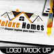 8 PSD Logo Mock Up Set Volume 01