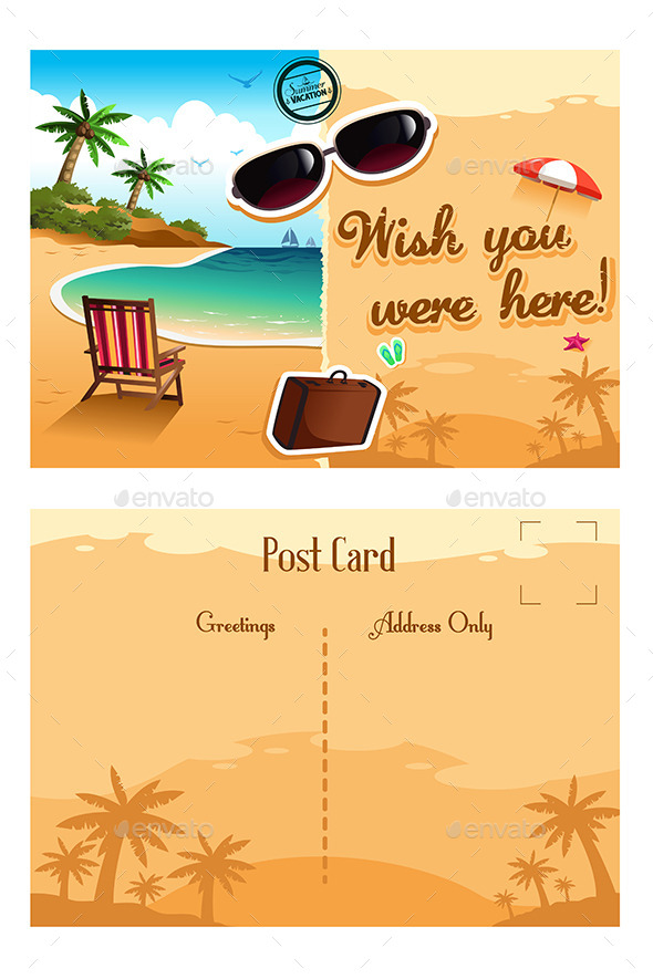 Travel Postcard - Travel Conceptual