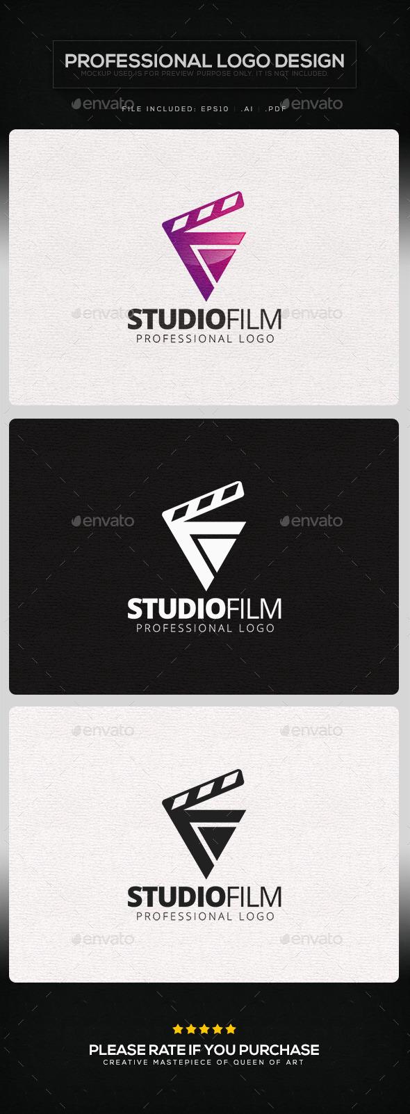 Studio Film Logo Template - Objects Logo Templates