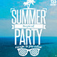 Vintage Summer Party Flyer - GraphicRiver Item for Sale