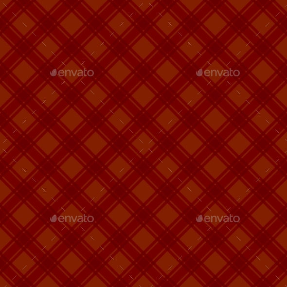 Seamless Red Fabric Tartan Background. Vector - Backgrounds Decorative