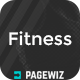 Fitness / Gym Landind Page - Pagewiz - ThemeForest Item for Sale