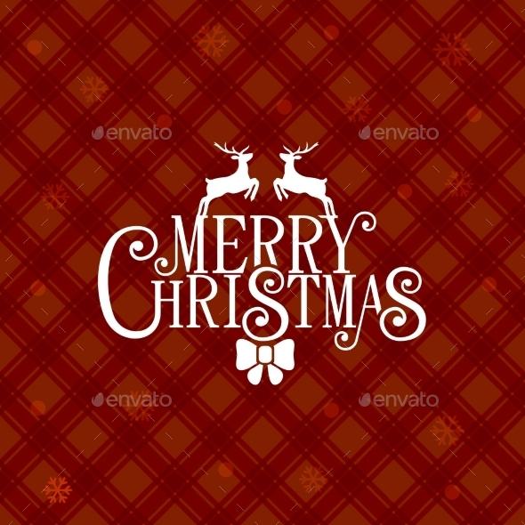 Red Christmas Greeting Card Background - Christmas Seasons/Holidays