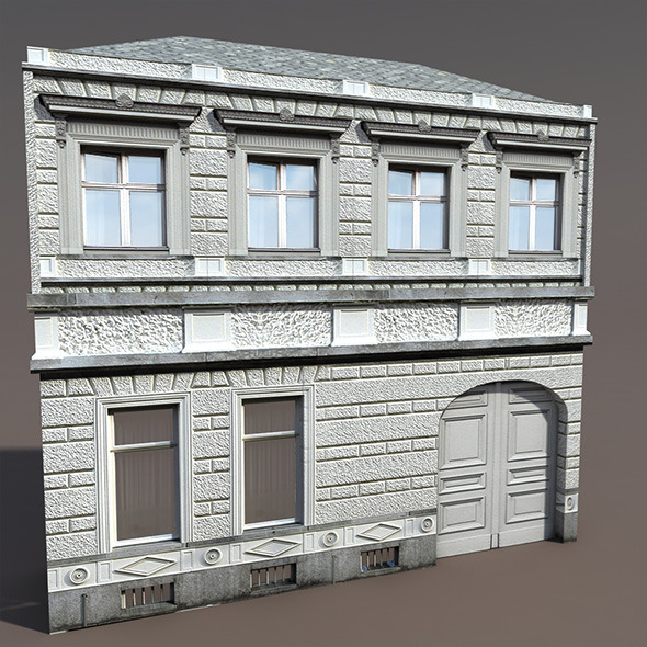 Apartment House #102 Low Poly 3d Model - 3DOcean Item for Sale