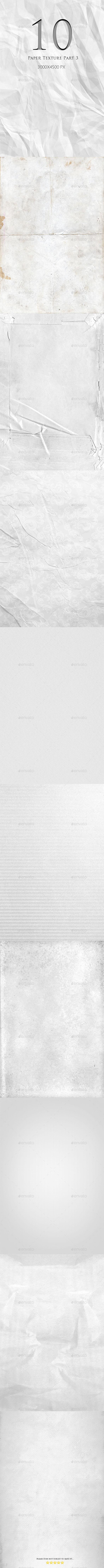 10 Paper Texture Part 3 - Wood Textures