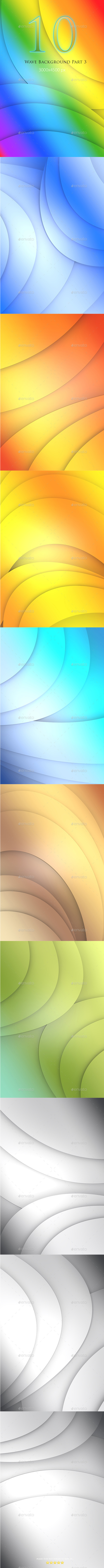 10 Wave Background Part 3 - Abstract Backgrounds