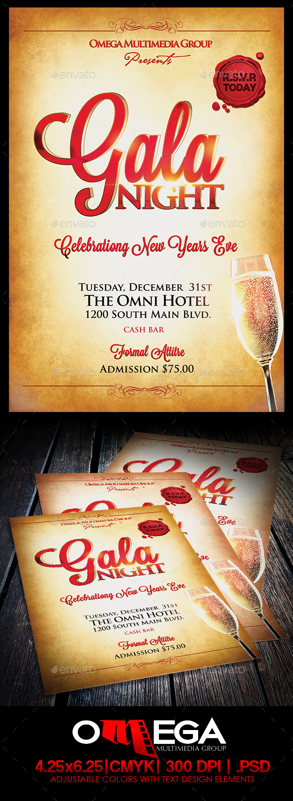 Gala Nights Vol2 - Events Flyers