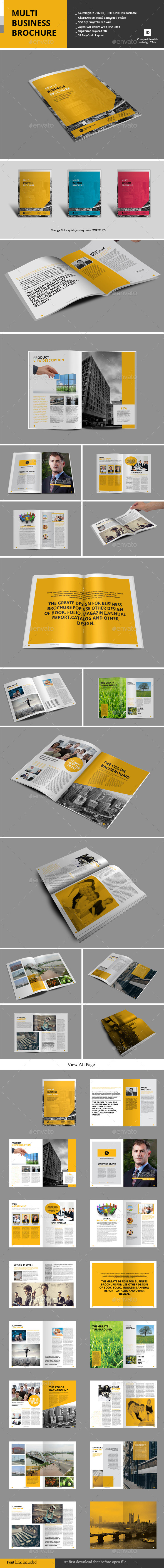 Multi Business Brochure - Corporate Brochures