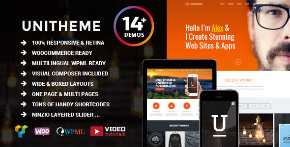 UniTheme - Responsive Multi-Purpose Theme - Corporate WordPress