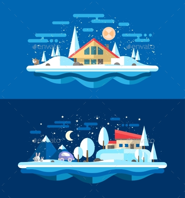 Winter Landscape - Landscapes Nature