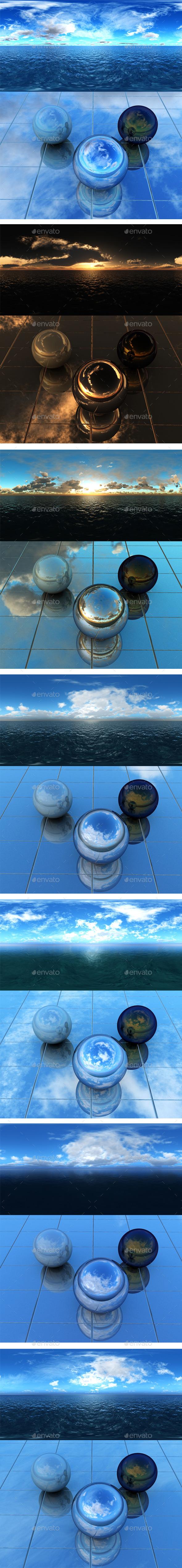 Pack - Sea 21 - 3DOcean Item for Sale