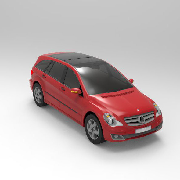 Concept Car 2006 Mercedes-Benz R-Class - 3DOcean Item for Sale