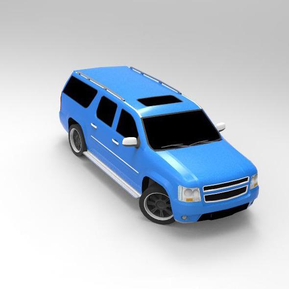 Concept Car Dundreary Granger - 3DOcean Item for Sale