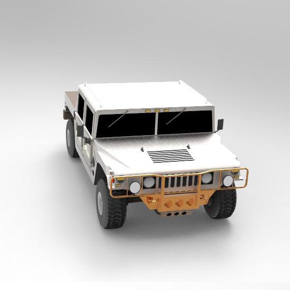 Concept Car Hummer H1 - 3DOcean Item for Sale