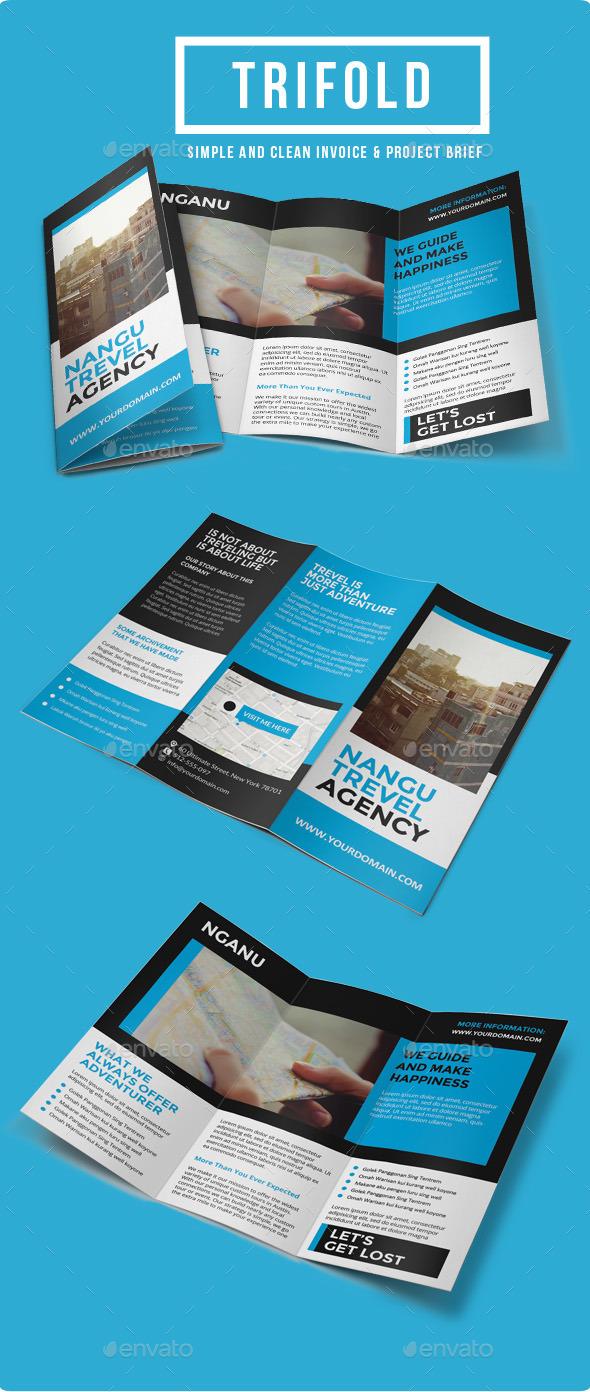 Multipurpose Trifold Brochure Vol. 6 - Corporate Brochures