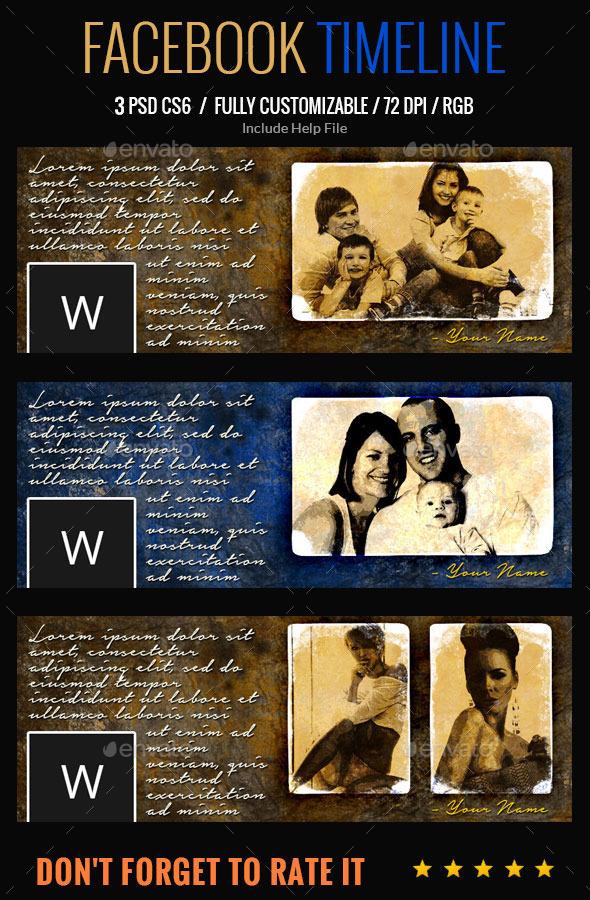 Vintage Style Facebook Cover - Facebook Timeline Covers Social Media