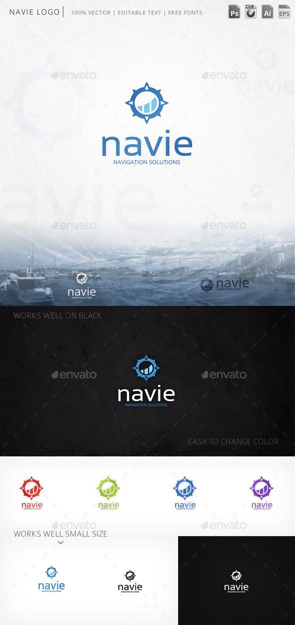 Navie Windrose Logo Template - Symbols Logo Templates