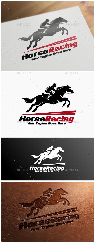 Horse Racing Logo Template - Animals Logo Templates