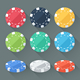 Gambling Chips - GraphicRiver Item for Sale