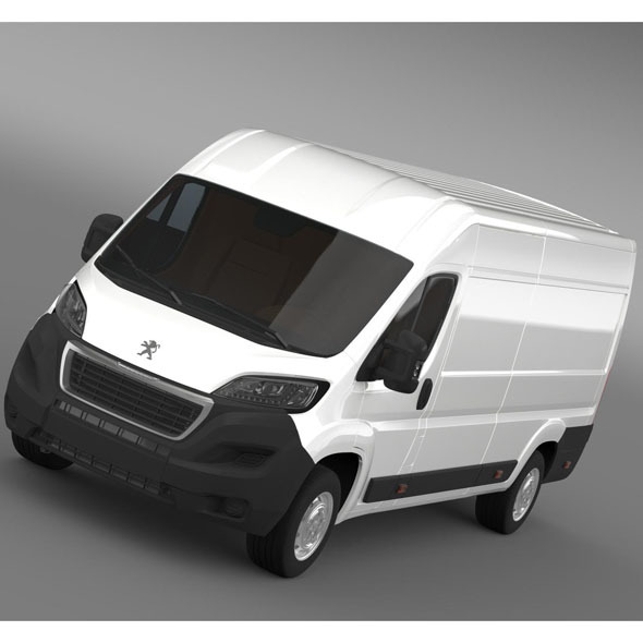 Peugeot Boxer Van L4H2 2014 - 3DOcean Item for Sale