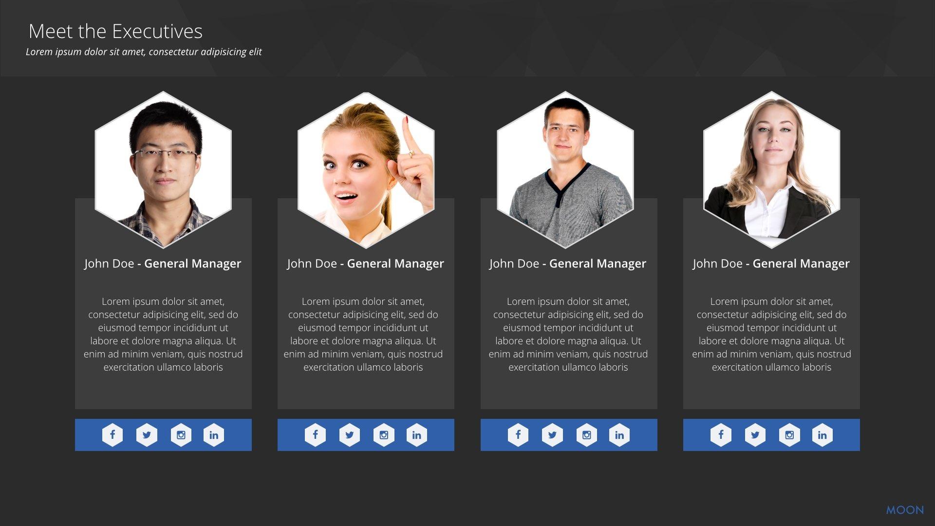 MOON Keynote Presentation Template by HexagonPixel   GraphicRiver