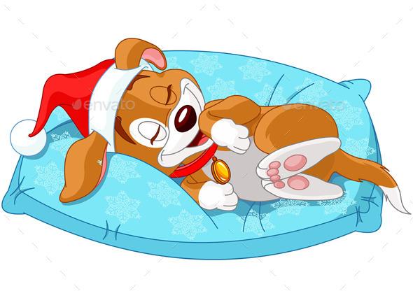 Christmas Doggy - Christmas Seasons/Holidays