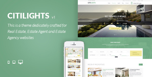 CitiLights - Premium Real Estate HTML Template - Business Corporate