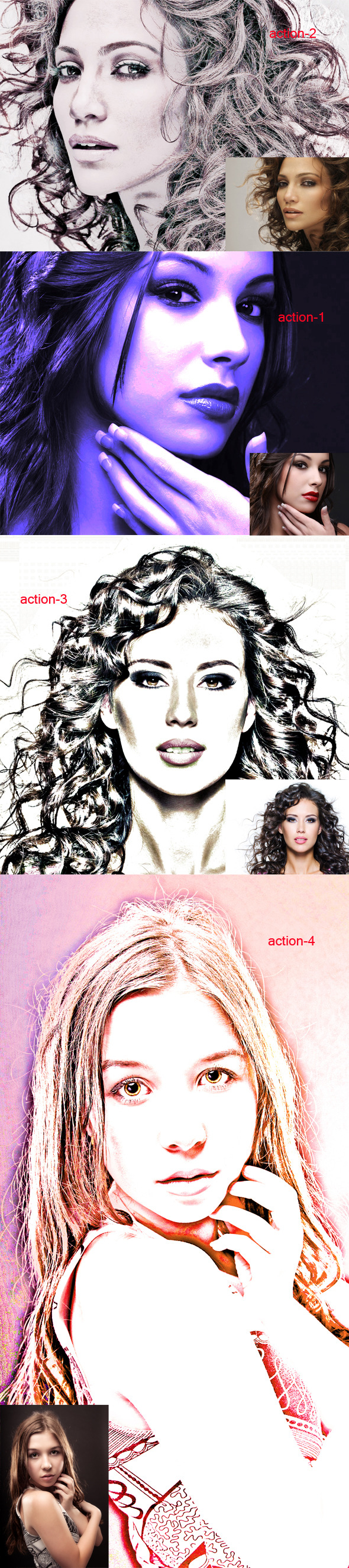 Photoshop Action II - Photo Effects Actions