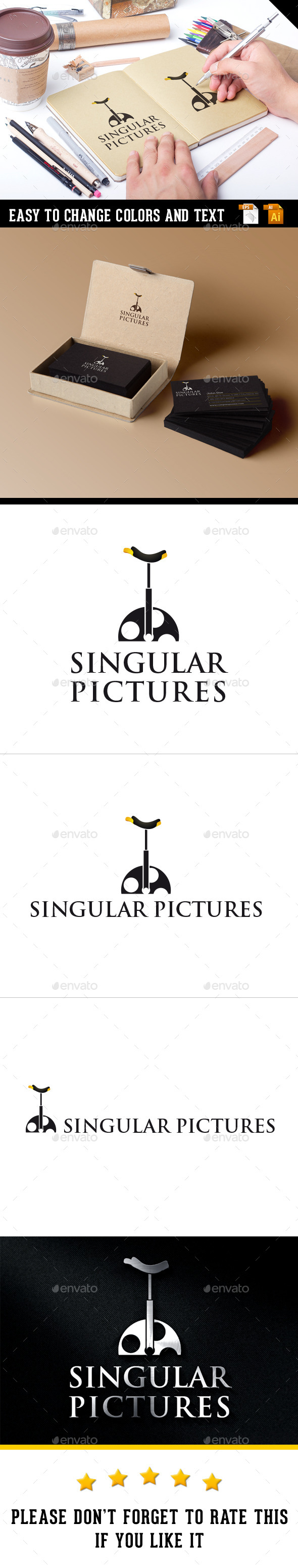 Singular Pictures - Vector Abstract