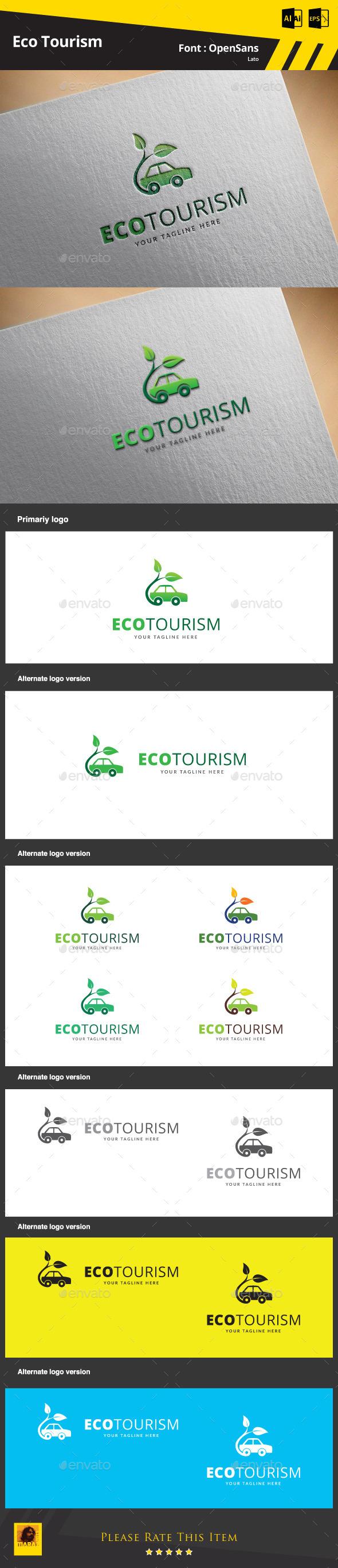 Eco Tourism Logo Template - Symbols Logo Templates