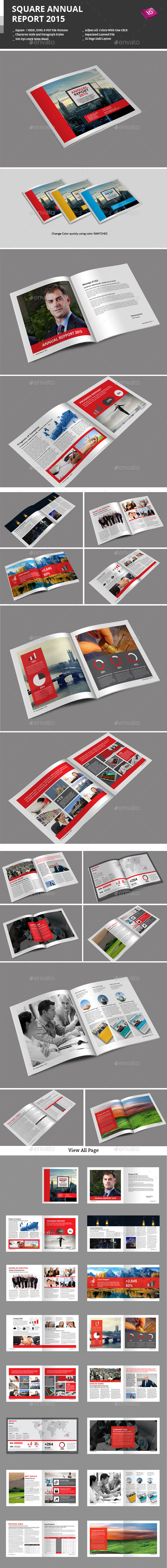 Square Annual Report 2015 - Informational Brochures