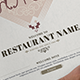 Classic And Elegant Restaurant Menu - GraphicRiver Item for Sale