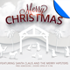 White Christmas Flyer Template