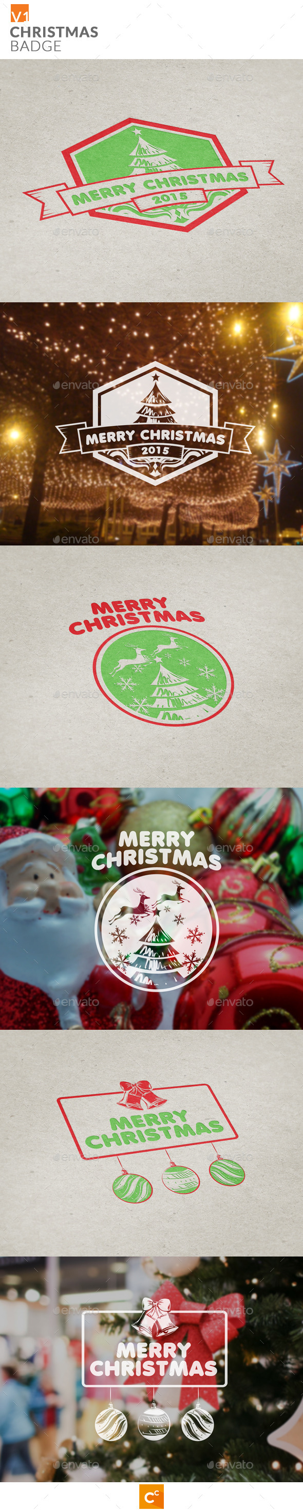 Christmas Badge - Badges & Stickers Web Elements
