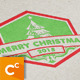 Christmas Badge - GraphicRiver Item for Sale