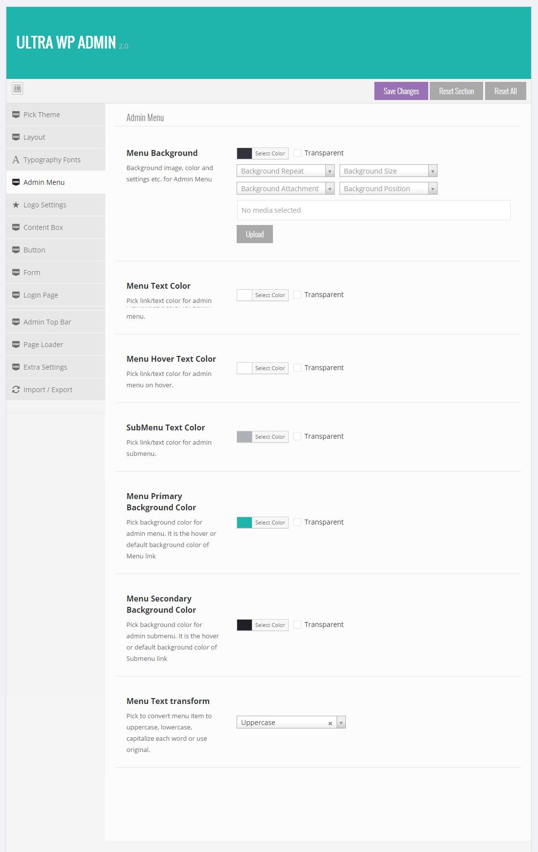 Ultra WordPress Admin Theme by themepassion   CodeCanyon