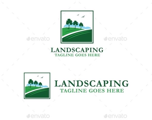 Landscaping Logo - Objects Logo Templates