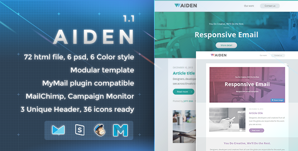 Aiden – Responsive Email Template