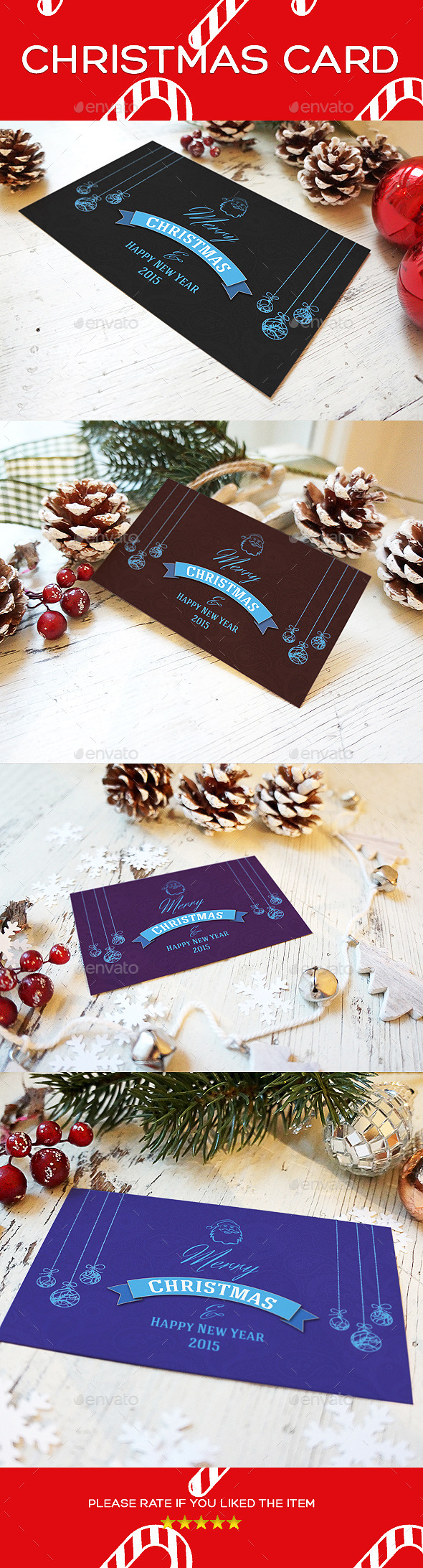 Exclusive Xmas ( Christmas ) Greeting Card - Holiday Greeting Cards