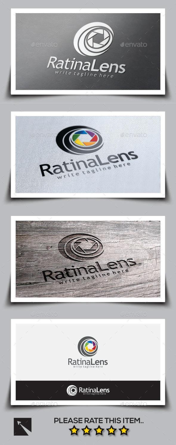 Ratina Lens Logo Template - Abstract Logo Templates