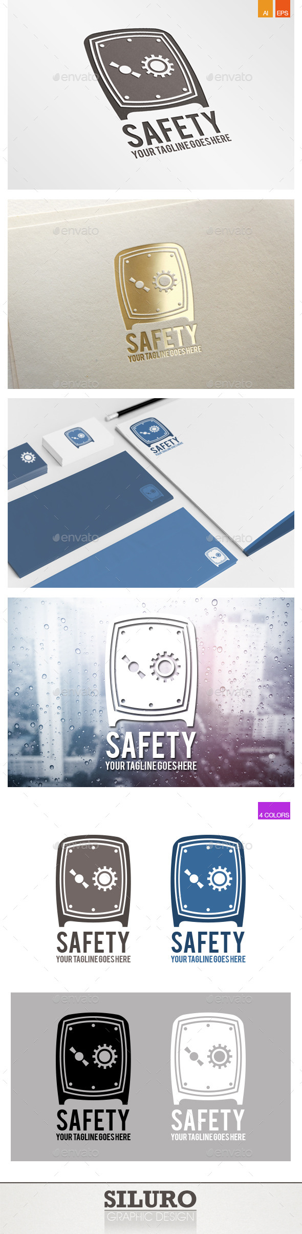 Safety Logo - Objects Logo Templates