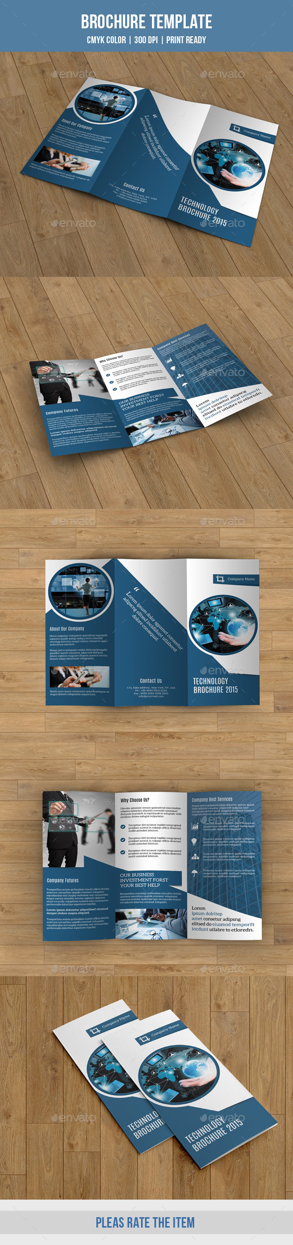 Corporate Trifold Brochure-V200 - Corporate Brochures