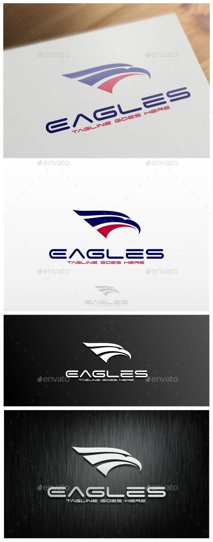 Eagles Logo Template - Animals Logo Templates
