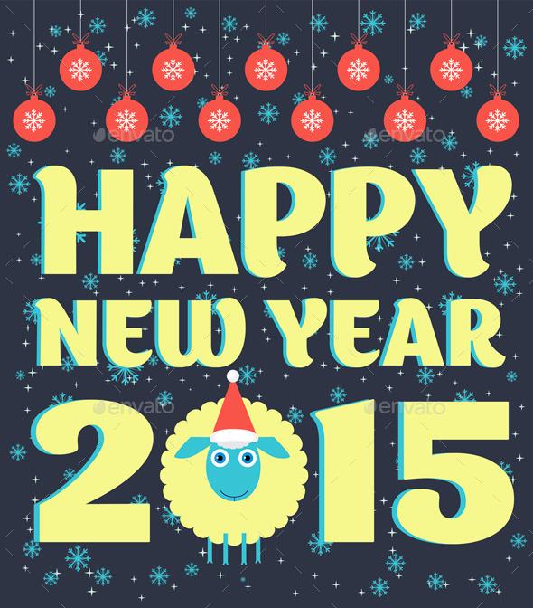 Xmax Sheep - New Year Seasons/Holidays