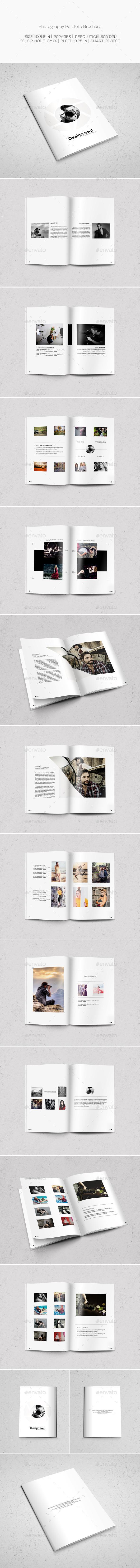 Photography Portfolio Brochure - Portfolio Brochures