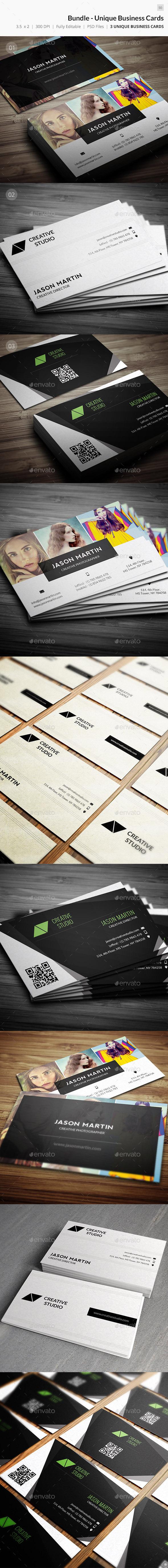 Bundle - Creative Business Cards - 50 - Creative Business Cards